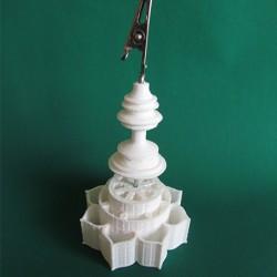 Dharma Wheel clip